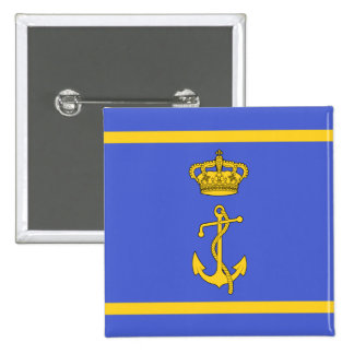Ministro del puerto deportivo de Regia, bandera de Pin