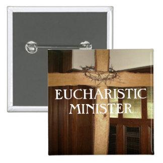 MINISTRO EUCARÍSTICO PIN CUADRADO