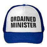 ministro ordenado gorras de camionero