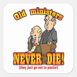 Ministros Colcomanias Cuadradas Personalizadas