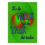 Ministry Appreciation Walk Greeting Card