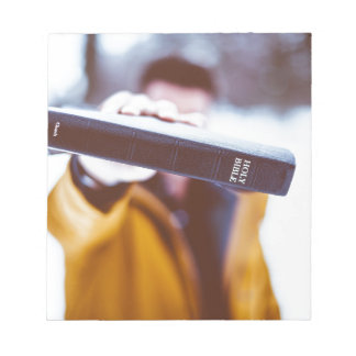 Ministry bible notepad