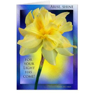 Ministry Birthday Card