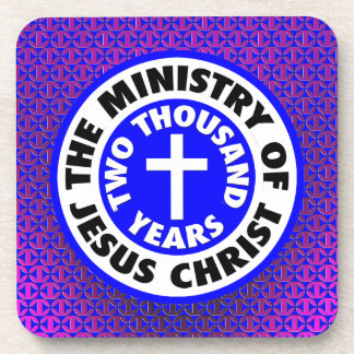 Ministry of Jesus Christ Drink Coaster