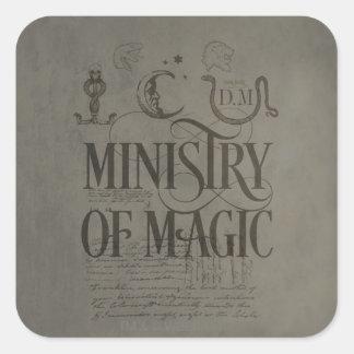 MINISTRY OF MAGIC™ SQUARE STICKER