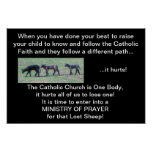 Ministry of Prayer for the Lost Sheep Print