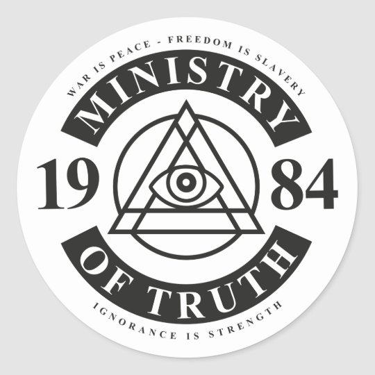 Ministry of Truth, administered by corporations