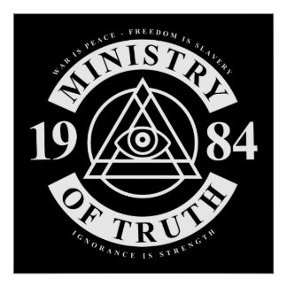 Ministry Of Truth Poster
