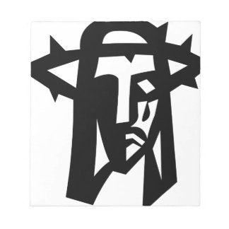 Ministry picture face of Jesus Notepad