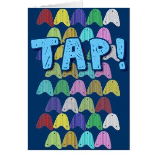 MiniTaps #10 Greeting Card