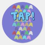 MiniTaps #10 Round Sticker