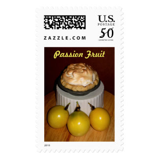 Miniture passion fruit meringue pie. postage