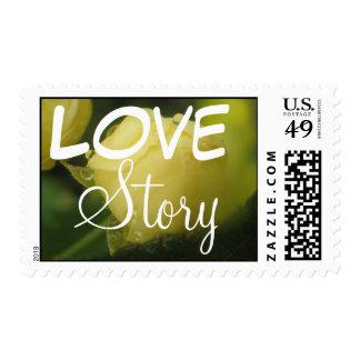 Miniture Rosebud Stamp