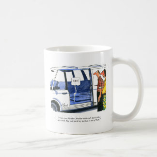 Minivan Seats cartoon Coffee Mug