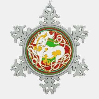Mink Holidaze 2017 Unicorn Christmas Ornament