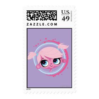 Minka 2 postage stamp