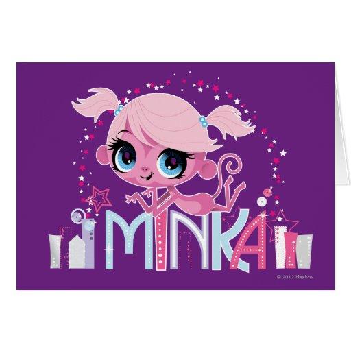 Minka en la ciudad grande 2 tarjetón