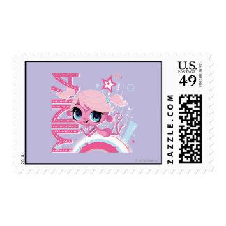 Minka in the Big City 1 Postage Stamp
