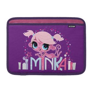 Minka in the Big City 2 MacBook Air Sleeve