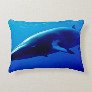 Minke Whale Accent Pillow