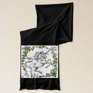 MinkMode Collection: Unicorn Scarf Green