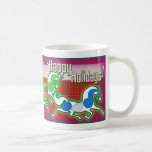MinkMug Holiday Horses for Christmas Mug