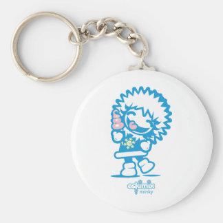 Minky Key Chain