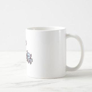 Minky Classic White Coffee Mug
