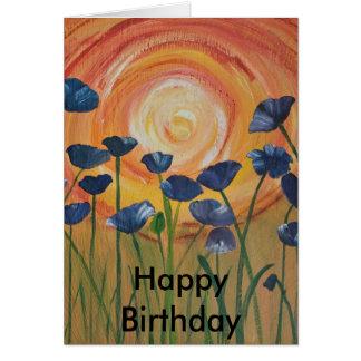 minky's prints, Happy Birthday Greeting Card