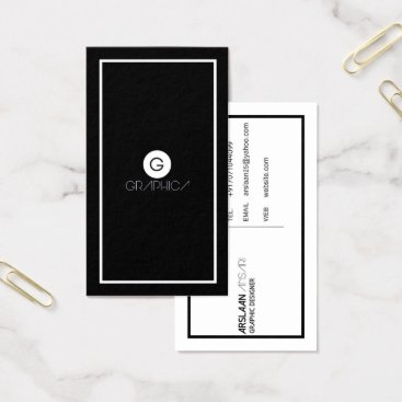 Professional Business Minmalist business card