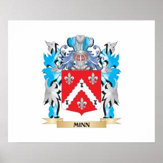 Minn Coat of Arms - Family Crest Print