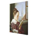 Minna Wasmann, la hermana del artista, 1822 Impresiones De Lienzo