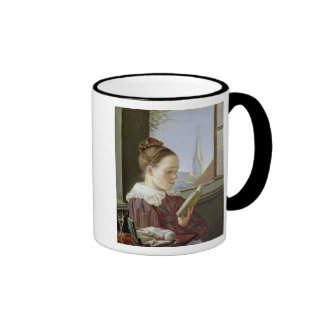 Minna Wasmann, the sister of the artist , 1822 Coffee Mugs