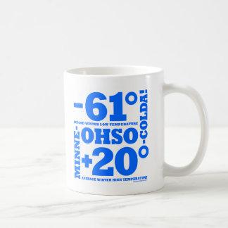 Minne-ohso-colda Record Temp Mug
