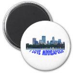 Minneapolis 2 Inch Round Magnet