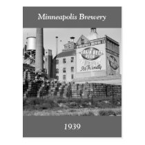 Minneapolis Brewery, 1930s Post Cards