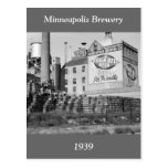 Minneapolis Brewery, 1930s Postcard