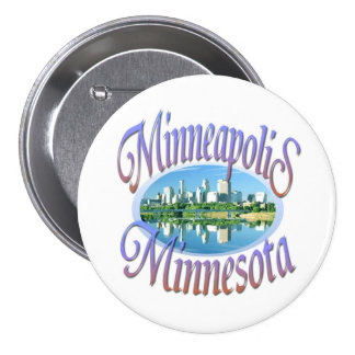Minneapolis Pinback Buttons