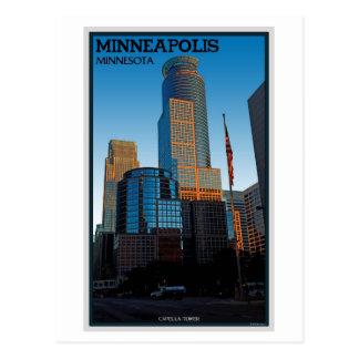 Minneapolis - Capella Tower Postcard