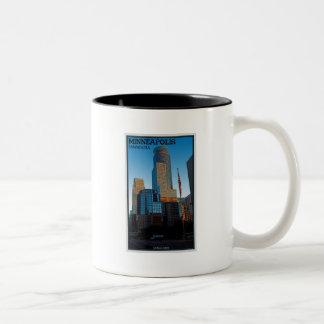 Minneapolis - Capella Tower Two-Tone Coffee Mug