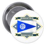 Minneapolis Diamond 3 Inch Round Button