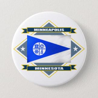 Minneapolis Diamond Pinback Button