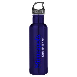 Minneapolis Established Water Bottle 24oz Water Bottle