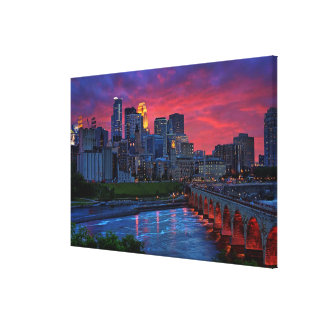 Minneapolis Eye Candy Stretched Canvas Prints