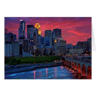 Minneapolis Eye Candy Greeting Card