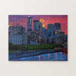 """Minneapolis Eye Candy Jigsaw Puzzle<br><div class=""""desc"""">Minneapolis,  Minnesota - view of  the Stone Arch</div>"""