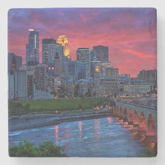 Minneapolis Eye Candy Stone Coaster