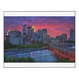 Minneapolis Eye Candy Wood Wall Art