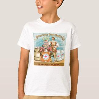 Minneapolis Flour Vintage Food Ad Art T-Shirt