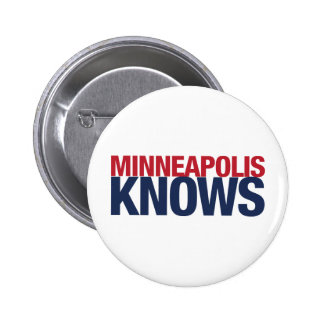 Minneapolis Knows Pinback Buttons